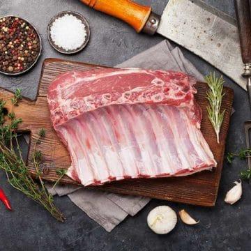 Lamb Rack Bone in CFO