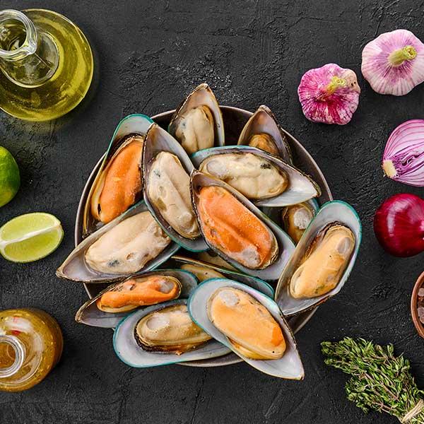 Mussel Half Shell