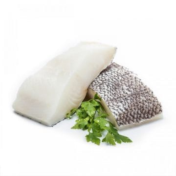 Chilean sea bass fillet portion